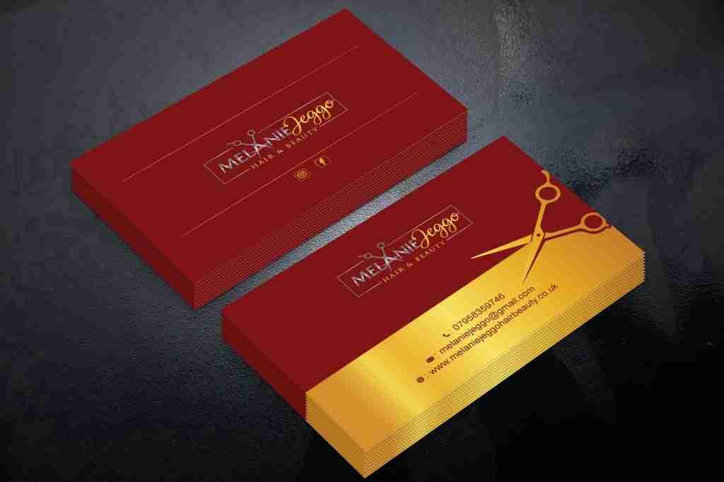 Melanie Jeggo Business Cards